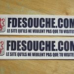 Sticker François de souche