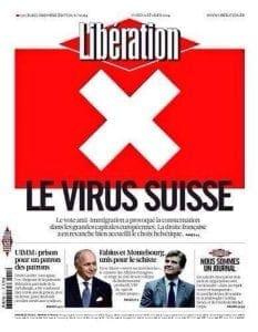 Libération : le virus suisse